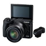 Canon EOS M3 Kit EF-M 18-55 + vizor electronic EVF-DC1
