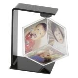 Deknudt Rotating Cube - rama foto de tip cub, 6x6x6, plastic