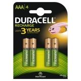 Duracell Acumulatori AAAx4 750mAh