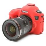 EasyCover Canon EOS 6D rosu - carcasa protectie