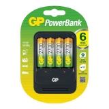 GP Incarcator AA/AAA NIMH R3/R6 + 4R6 2700mAh RS125007298-1