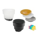 Gary Fong Lightsphere Collapsible Fashion & Commercial LSC-SM-FC - kit difuzie pentru blituri externe