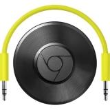 Google Chromecast 2.0 Audio - Streaming media player - negru