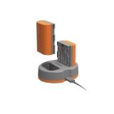 Hahnel HLX-E6N Extreme Power Kit - Incarcator dual pentru Canon LP-E6N + Acumulator HLX-E6N
