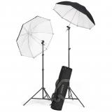 Kaiser #1204 Strobist Light Stand/ Umbrella Kit