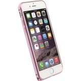 Krusell - Husa bumper aluminium pentru Apple Iphone 6 - roz
