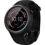 Motorola Moto 360 Sport - Smartwatch 42mm, 2nd Gen, Silicon, Negru