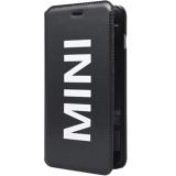 Mini Cooper - Husa agenda vinyl pentru Apple Iphone 6 - negru