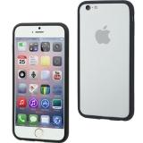 Muvit - Husa bumper Ibelt pentru Apple Iphone 6 - negru