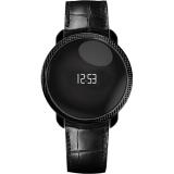 MyKronoz ZeCircle Premium Embossed - Smartwatch, Negru