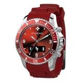 MyKronoz ZeClock - Smartwatch analog rosu