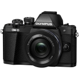 Olympus OM-D E-M10 Mark II kit cu 14-42mm Pancake EZ negru