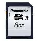 Panasonic Silver SDHC 8Gb Clasa 6