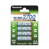 Panasonic - set 4 acumulatori R6 AA 2700mAh