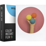 Impossible - Film Color pentru 600, Round White Frame