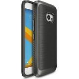 Ringke Husa HTC 10 + Folie Invisible Screen Defender, Onyx Mist Grey