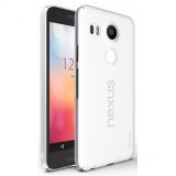 Ringke SLIM FROST ALB Husa Google Nexus 5X 2015 + BONUS folie protectie display Ringke