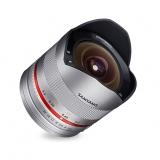 Samyang 8mm F2.8 UMC Fisheye II - Fujifilm X, argintiu