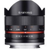 Samyang 8mm Fisheye F2.8 II Sony E negru