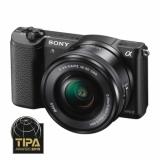 Sony Alpha A5100 (ILCE-5100L/B) + SEL16-50mm - aparat foto mirrorless cu WiFi si NFC