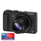 Sony DSC-HX50 negru - 20.4Mpx, zoom optic 30x, SteadyShot, Wi-Fi