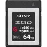 Sony XQD Seria G, 64GB, 440MB/s citire, 400MB/s scriere
