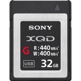 Sony XQD seria G 32GB, citire 440MB/s, scriere 400MB/s