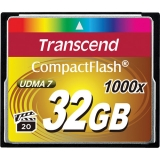 Transcend CF 32GB 1000x, 160 MB/s citire, 120 MB/s scriere