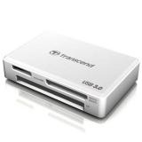 Transcend RDF8 Cititor carduri, USB 3.0, Alb
