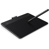 Wacom Intuos Comic CTH-490 Pen & Touch S - tableta grafica - negru