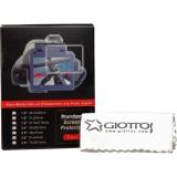 Giottos SP2535 - microfibra + trei folii protectie pentru ecran LCD de 3.5
