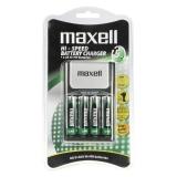 Maxell  785997.00.CN - Incarcator + 4 acumulatori R6 de 2500mAh/5H