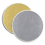Photoflex LiteDisc DL-1642SG blenda 2in1, Silver/Gold, 107cm