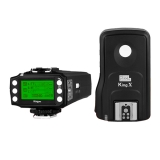 Pixel King Pro Full Set - transmitator + receptor TTL pt Canon