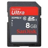 SanDisk Ultra SDHC 8GB UHS-I - Card de memorie 30MB/s SDSDU-008G-U46