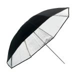 Umbrela reflexie Silver Black 103cm