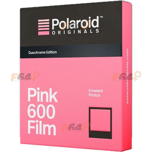 Film Polaroid 600 Duochrome filtru roz si negru